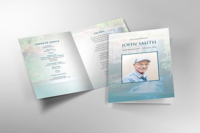 Memorial Service Booklets